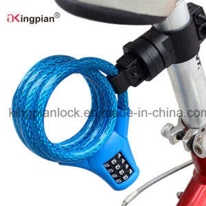 Resettable Combination Code Cable Lock for Bicycle pictures & photos