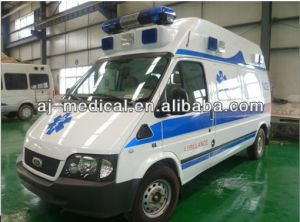 Transit High Roof Left Hand Drive Hospital Ambulance pictures & photos