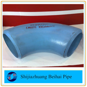 ASME B16.9 Alloy Steel Pipe Fittings Sch80 Seamless Elbow A234 Wp5 pictures & photos