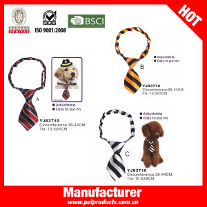 Stripe Wind Dog Bow Tie, Dog Neck Collar (YJ83710) pictures & photos