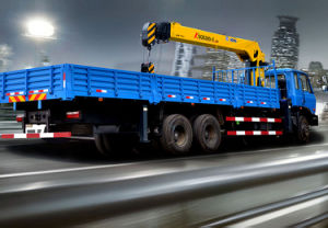 Truck-Mounted Crane with Telescopic Boom pictures & photos