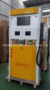Zcheng Petrol Filling Station Pump Fuel Dispenser with TV pictures & photos
