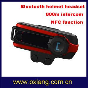 Bluetooth Handsfree Motorcycle Helmet Headsets Intercom 800 Meters pictures & photos