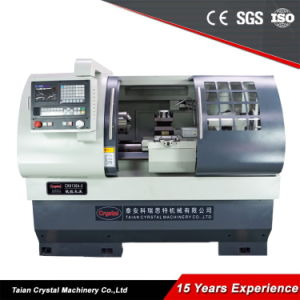 Small CNC Bench Lathe CNC Metal Turning Lathe Machine for Sale Ck6136A-2 pictures & photos