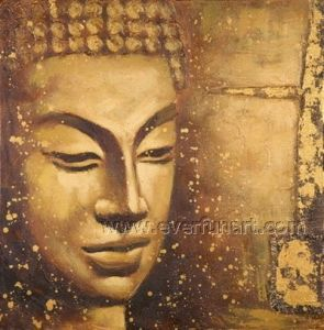High Quality Oil Painting Buddha (BU-026) pictures & photos