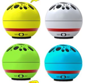 Lovely Golf Ball Bluetooth Mini Speaker (BS-6310)