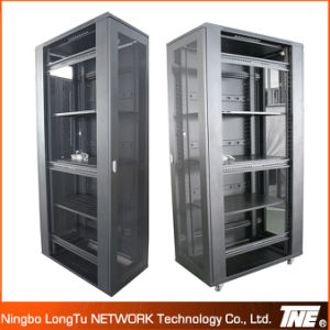 Network Cabinet with Front Flat Mesh Door and High Quality Moonlight Lock pictures & photos