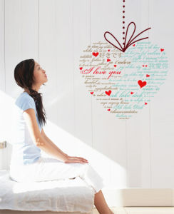 Enduring Love Wall Sticker (TP-062)