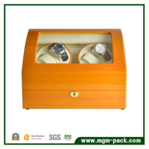 Luxury Piano Finish with Automatic Motors Watch Winder pictures & photos