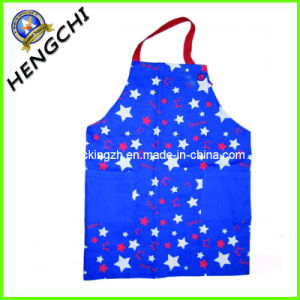 Customized Printed Fashion Durable Cotton Apron (HC0163) pictures & photos