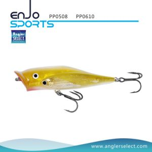 School Fish Popper Top Water Fishing Tackle Lure with Vmc Treble Hooks (PP0610) pictures & photos