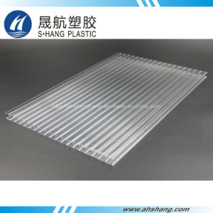 100% Bayer Material Clear Polycarbonate PC Hollow Sheet with UV pictures & photos