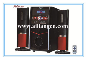 Ailiang 2.1 Multimedia Speaker with LED Display (USBFM3306/2.1)