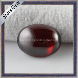Cabochon Flat Bottom CZ Gemstone for Jewelry /Oval Cubiczirconia pictures & photos