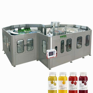18000b/H High Speed Fruit Juice Filling Machine/ 3-in-1 Juice Bottling Line (RHSG60-60-15) pictures & photos