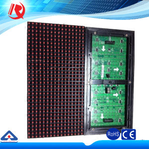 Hot Selling P10 LED Module Used for Single Color Text Scrolling LED Display Screen pictures & photos