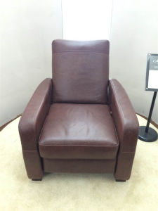 Electric Recliner Sofa USA L&P Mechanism Sofa Down Sofa (C461#) pictures & photos