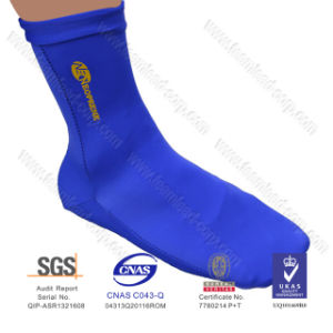 Men Sand Socks/Men Shoe Style Neoprene Sand Socks (QKS004) pictures & photos