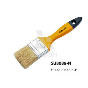 100 Pure Bristle Wooden Handle Paint Brush pictures & photos