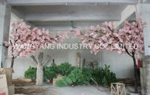 Popular Pink Artificial Fake Sakura Tree Centerpiece pictures & photos