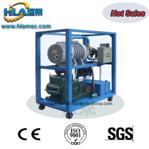 Interlocked Protective Double Stages Vacuum Pump Units pictures & photos