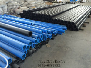 3 Million Molecular Weight Pure Blue Color UHMWPE Pipe pictures & photos