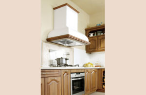 Top Quality PVC+MDF Kitchen Cabinet with Door Plank Modelling (zc-077) pictures & photos