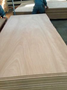 Mahogany Veneer MDF From Factory pictures & photos