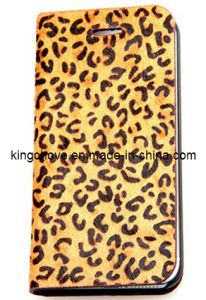 Fashion and Best Selling Leather for iPhone 5 Case (KCI07-1) pictures & photos