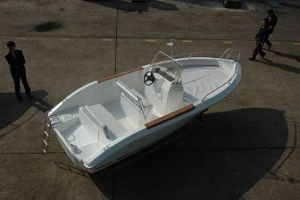 Waterwish 19 Open Fiberglass Fishing Boat (QD 19OPEN)