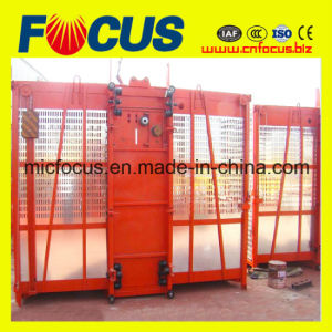 ISO and Ce Approved Double Cage Sc120/120 Construction Hoist/Elevator pictures & photos