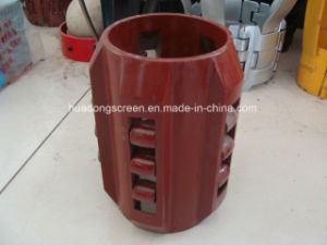 API Oil Field Weld Bow Centralizer for Fixed The Casing Pipe pictures & photos