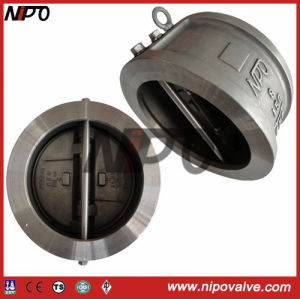 Externally Positioned Wafer Double Disc Swing Check Valve (H76) pictures & photos