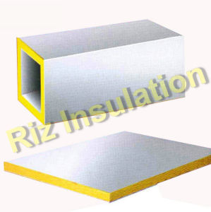 China fiber glass wool board for air conditioner duct for Glass fiber board insulation