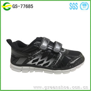 Kid Boys Sneakers Sport Shoes Resistant Breathable Shoes pictures & photos