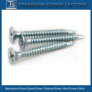 Blue White Zinc Galvanized Drywall Screw pictures & photos