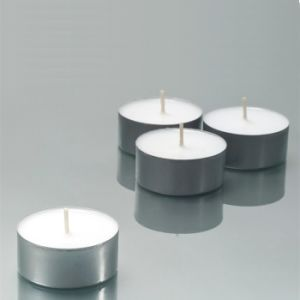 Cheap Price Custom Paraffin Wax White Tealight Candle pictures & photos