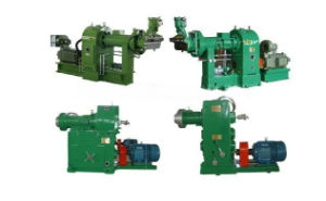 Hot Feed Rubber Extruder /Cold Feed Rubber Extruder pictures & photos