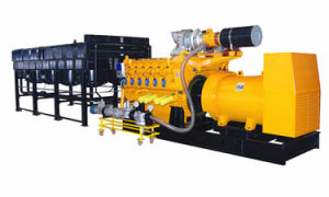 Horizontal Radiator Natural Gas Generator 1000kw 1250kVA 50Hz pictures & photos
