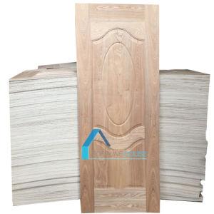 Plywood EV Wenge/Dark Walnut Veneer Moulded Door Panel Skin pictures & photos