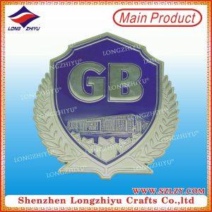 Zinc Alloy Labels Nickel Metal 3D Metal Sticker Labels pictures & photos