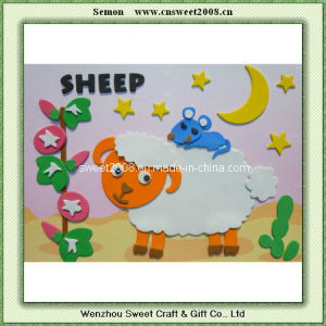3D Animal Series DIY EVA Hand Sticker---Sheep pictures & photos