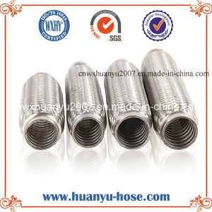 Manufactory Custom with Interlock Exhaust Flexible Pipe pictures & photos