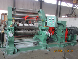 Two Roll Open Type Rubber Mixing Mill for Rubber Sheeting pictures & photos
