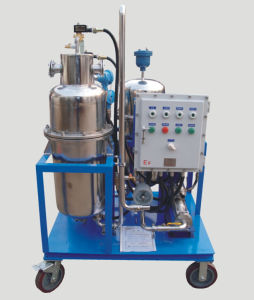 Portable Type Automatic Efficient Fuel Oil Water Separator Machine pictures & photos
