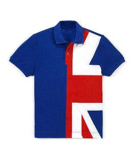 Men′s Fashion Printed Sports Polo Shirt