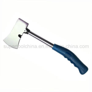 600 G Clamping Axe with Bent Steel Tube Handle (541900) pictures & photos