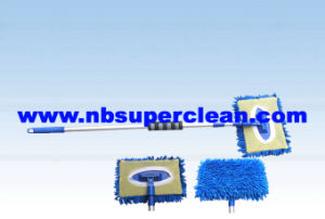 Telescopics Chenille Microfiber Mop with EVA (CN1186) pictures & photos
