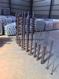 Screw Anchor, PV Mounting Ground Screw pictures & photos