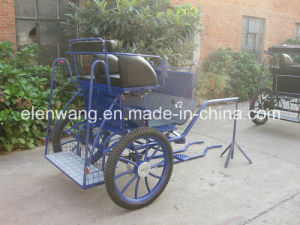 2wheeled Pony Cart Horse Carriage Horse Cart pictures & photos